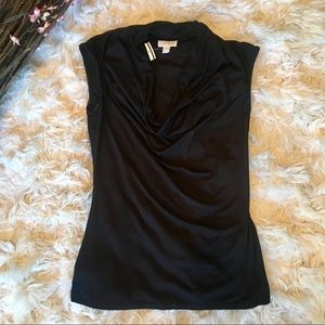 A Pea in the Pod Sleeveless Blouse (black)